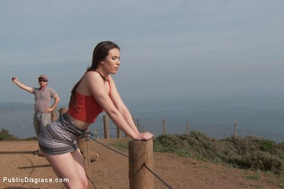 Photo number 1 from Casey Calvert Horny Anal Slut Strolls the Streets of San Francisco  shot for Public Disgrace on Kink.com. Featuring Steve Holmes, Casey Calvert  and Tommy Pistol in hardcore BDSM & Fetish porn.