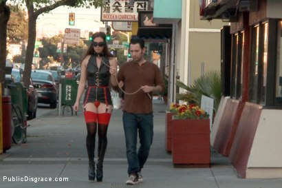 Photo number 21 from Casey Calvert Horny Anal Slut Strolls the Streets of San Francisco  shot for Public Disgrace on Kink.com. Featuring Steve Holmes, Casey Calvert  and Tommy Pistol in hardcore BDSM & Fetish porn.