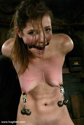 Photo number 8 from Bobbi Starr shot for Hogtied on Kink.com. Featuring Bobbi Starr in hardcore BDSM & Fetish porn.
