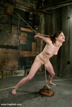 Photo number 9 from Bobbi Starr shot for Hogtied on Kink.com. Featuring Bobbi Starr in hardcore BDSM & Fetish porn.
