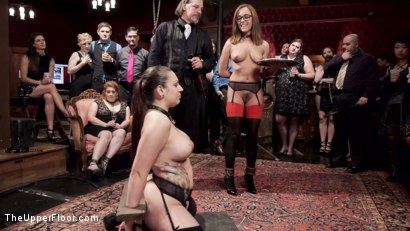 Photo number 1 from Screaming Anal Slaves shot for The Upper Floor on Kink.com. Featuring John Strong, Tori Avano and Roxanne Rae in hardcore BDSM & Fetish porn.