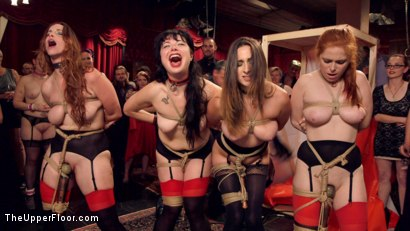 Photo number 5 from Hardcore Anal Celebration of Sexual Service shot for The Upper Floor on Kink.com. Featuring Ashley Adams, Seth Gamble, Bella Rossi, Siouxsie Q, Mickey Mod and Penny Pax in hardcore BDSM & Fetish porn.