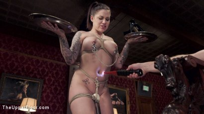 Photo number 21 from Fresh & Useless: New Girls Sexually Used shot for The Upper Floor on Kink.com. Featuring Karmen Karma, Bill Bailey and Melissa May in hardcore BDSM & Fetish porn.