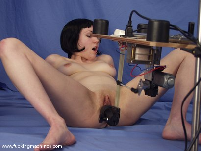 Photo number 14 from Local Amateur Gets Fucked By Machines shot for Fucking Machines on Kink.com. Featuring Dolores Haze in hardcore BDSM & Fetish porn.