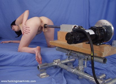 Photo number 3 from Local Amateur Gets Fucked By Machines shot for Fucking Machines on Kink.com. Featuring Dolores Haze in hardcore BDSM & Fetish porn.