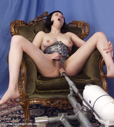 Photo number 7 from Local Amateur Gets Fucked By Machines shot for Fucking Machines on Kink.com. Featuring Dolores Haze in hardcore BDSM & Fetish porn.