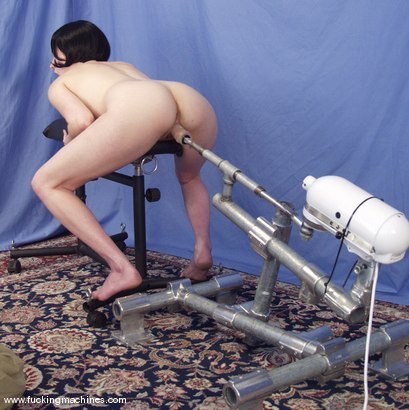 Photo number 9 from Local Amateur Gets Fucked By Machines shot for Fucking Machines on Kink.com. Featuring Dolores Haze in hardcore BDSM & Fetish porn.