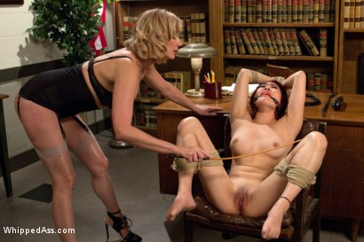 Photo number 4 from Student Indiscretions  shot for Whipped Ass on Kink.com. Featuring Maitresse Madeline Marlowe  and Lea Hart in hardcore BDSM & Fetish porn.
