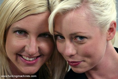 Photo number 1 from The Great Fuck Off Olympics, Part 2: Blonde vs. Blonde. shot for Fucking Machines on Kink.com. Featuring Lorelei Lee and Jolene in hardcore BDSM & Fetish porn.
