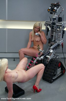 Photo number 15 from The Great Fuck Off Olympics, Part 2: Blonde vs. Blonde. shot for Fucking Machines on Kink.com. Featuring Lorelei Lee and Jolene in hardcore BDSM & Fetish porn.
