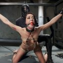 Sub girl Sabrina Banks tied up and fucked silly in a demanding slave training program