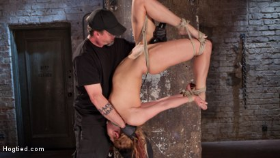 Photo number 10 from Dahlia in the Sky shot for Hogtied on Kink.com. Featuring Dahlia Sky in hardcore BDSM & Fetish porn.