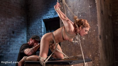 Photo number 2 from Dahlia in the Sky shot for Hogtied on Kink.com. Featuring Dahlia Sky in hardcore BDSM & Fetish porn.