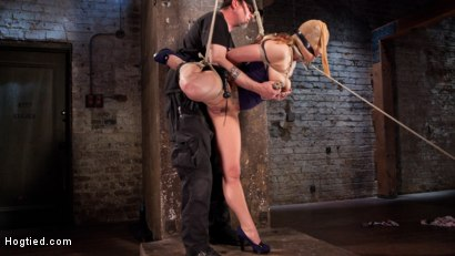 Photo number 6 from Dahlia in the Sky shot for Hogtied on Kink.com. Featuring Dahlia Sky in hardcore BDSM & Fetish porn.