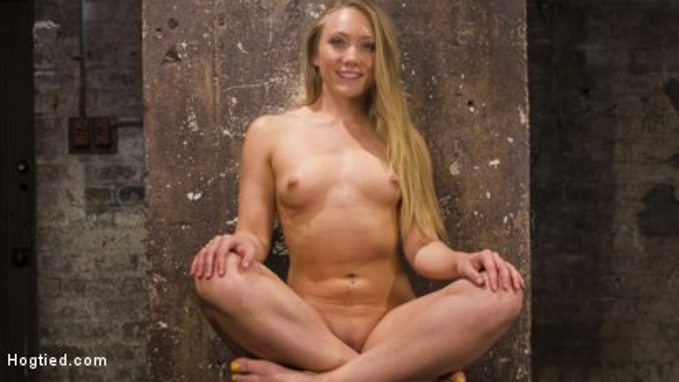 Photo number 1 from Big Booty Slut in Tight Bondage shot for Hogtied on Kink.com. Featuring AJ Applegate in hardcore BDSM & Fetish porn.