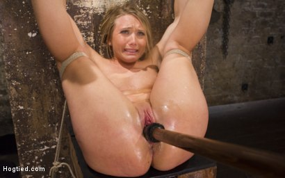 Photo number 13 from Big Booty Slut in Tight Bondage shot for Hogtied on Kink.com. Featuring AJ Applegate in hardcore BDSM & Fetish porn.