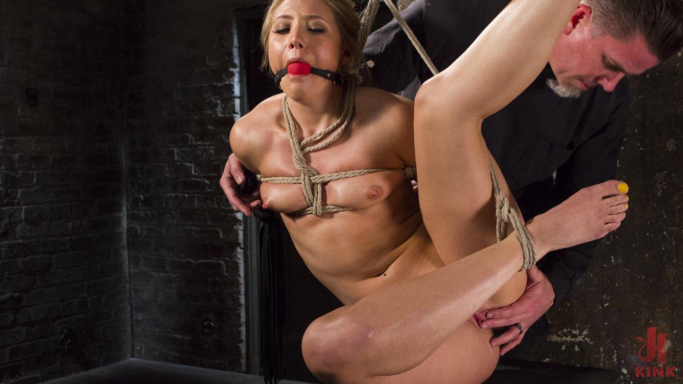 Photo number 14 from Big Booty Slut in Tight Bondage shot for Hogtied on Kink.com. Featuring AJ Applegate in hardcore BDSM & Fetish porn.