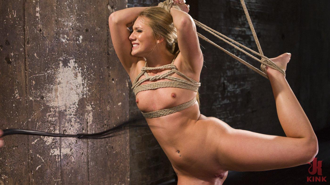Photo number 5 from Big Booty Slut in Tight Bondage shot for Hogtied on Kink.com. Featuring AJ Applegate in hardcore BDSM & Fetish porn.
