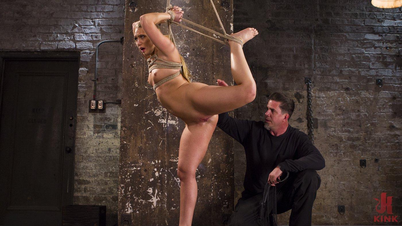 Photo number 7 from Big Booty Slut in Tight Bondage shot for Hogtied on Kink.com. Featuring AJ Applegate in hardcore BDSM & Fetish porn.