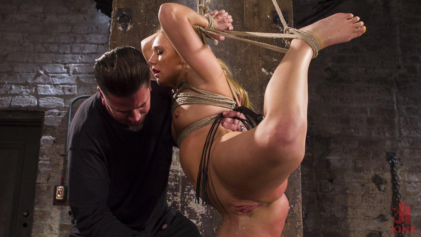 Photo number 8 from Big Booty Slut in Tight Bondage shot for Hogtied on Kink.com. Featuring AJ Applegate in hardcore BDSM & Fetish porn.