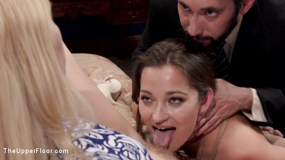 Photo number 21 from To Honor & Obey: Virginal fiance trained for Sexual Slavehood shot for The Upper Floor on Kink.com. Featuring Dani Daniels, Cadence Lux and Tommy Pistol in hardcore BDSM & Fetish porn.