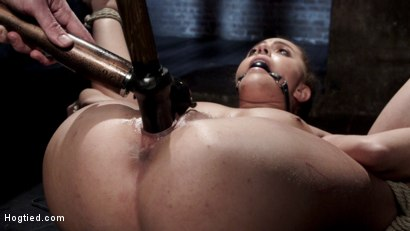 Photo number 10 from Extreme bondage, brutal torment, and intense orgasm denial. shot for Hogtied on Kink.com. Featuring Roxanne Rae in hardcore BDSM & Fetish porn.
