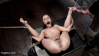 Photo number 11 from Extreme bondage, brutal torment, and intense orgasm denial. shot for Hogtied on Kink.com. Featuring Roxanne Rae in hardcore BDSM & Fetish porn.