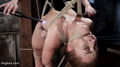 Photo number 8 from Extreme bondage, brutal torment, and intense orgasm denial. shot for Hogtied on Kink.com. Featuring Roxanne Rae in hardcore BDSM & Fetish porn.