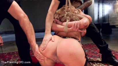 Photo number 6 from Slave Training a Big Tit Blonde Bombshell In Bondage, Day One shot for The Training Of O on Kink.com. Featuring Cherie Deville and Tommy Pistol in hardcore BDSM & Fetish porn.