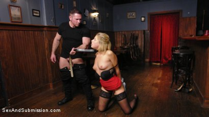 Photo number 3 from The Submission of Zoey Monroe shot for Sex And Submission on Kink.com. Featuring Zoey Monroe and John Strong in hardcore BDSM & Fetish porn.