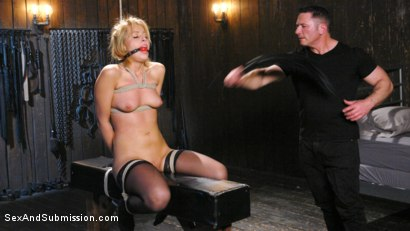 Photo number 6 from The Submission of Zoey Monroe shot for Sex And Submission on Kink.com. Featuring Zoey Monroe and John Strong in hardcore BDSM & Fetish porn.
