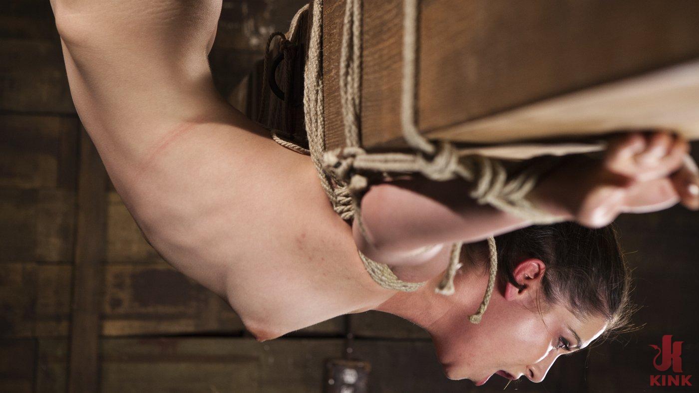 Photo number 5 from Hot 19 Year Old in Tormenting Bondage shot for Hogtied on Kink.com. Featuring Kasey Warner in hardcore BDSM & Fetish porn.