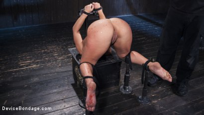 Photo number 12 from Danger Ahead shot for Device Bondage on Kink.com. Featuring Abella Danger and Orlando in hardcore BDSM & Fetish porn.