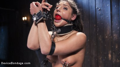 Photo number 11 from Danger Ahead shot for Device Bondage on Kink.com. Featuring Abella Danger and Orlando in hardcore BDSM & Fetish porn.