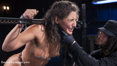 Photo number 5 from Danger Ahead shot for Device Bondage on Kink.com. Featuring Abella Danger and Orlando in hardcore BDSM & Fetish porn.