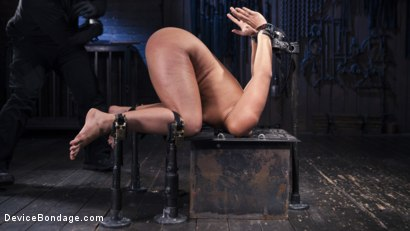 Photo number 7 from Danger Ahead shot for Device Bondage on Kink.com. Featuring Abella Danger and Orlando in hardcore BDSM & Fetish porn.