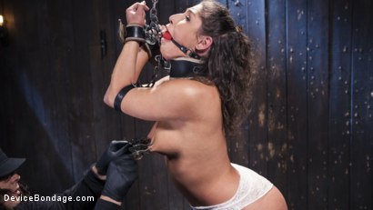 Photo number 9 from Danger Ahead shot for Device Bondage on Kink.com. Featuring Abella Danger and Orlando in hardcore BDSM & Fetish porn.