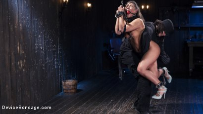 Photo number 10 from Danger Ahead shot for Device Bondage on Kink.com. Featuring Abella Danger and Orlando in hardcore BDSM & Fetish porn.