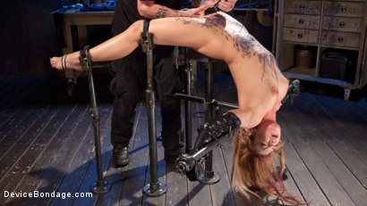 Photo number 12 from Damage Me Please!! shot for Device Bondage on Kink.com. Featuring Dahlia Sky in hardcore BDSM & Fetish porn.