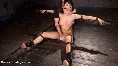 Photo number 5 from Damage Me Please!! shot for Device Bondage on Kink.com. Featuring Dahlia Sky in hardcore BDSM & Fetish porn.
