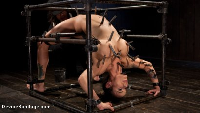 Photo number 2 from Big Tits Tormented in Demented Device shot for Device Bondage on Kink.com. Featuring Orlando and Nadia Styles in hardcore BDSM & Fetish porn.