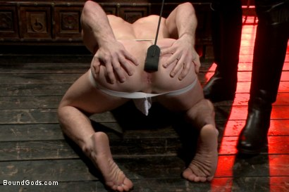 Photo number 3 from Welcome to the House Mr Ramzi shot for Bound Gods on Kink.com. Featuring Christian Wilde, Adam Ramzi and Doug Acre in hardcore BDSM & Fetish porn.