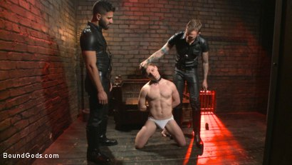 Photo number 1 from Welcome to the House Mr Ramzi shot for Bound Gods on Kink.com. Featuring Christian Wilde, Adam Ramzi and Doug Acre in hardcore BDSM & Fetish porn.