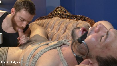 Photo number 8 from Muscular Stud, Jason Maddox, Begs to Cum In bondage for the First Time shot for Men On Edge on Kink.com. Featuring Jason Maddox in hardcore BDSM & Fetish porn.