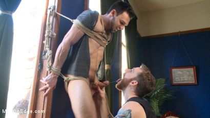 Photo number 6 from Muscular Stud, Jason Maddox, Begs to Cum In bondage for the First Time shot for Men On Edge on Kink.com. Featuring Jason Maddox in hardcore BDSM & Fetish porn.