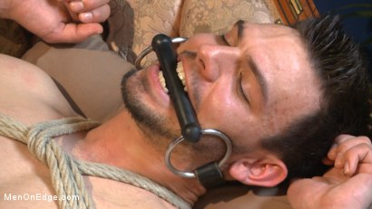 Photo number 11 from Muscular Stud, Jason Maddox, Begs to Cum In bondage for the First Time shot for Men On Edge on Kink.com. Featuring Jason Maddox in hardcore BDSM & Fetish porn.