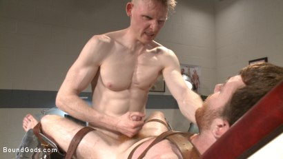 Photo number 13 from Helplessly bound Seamus O'Reilly fisted on the hospital night shift shot for Bound Gods on Kink.com. Featuring Rob Yaeger and Seamus O'Reilly in hardcore BDSM & Fetish porn.
