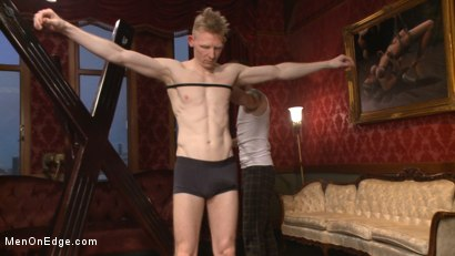 Photo number 1 from Lean hunk Rob Yaeger relentlessly edged & tormented w/ ice - Live Show shot for Men On Edge on Kink.com. Featuring Rob Yaeger in hardcore BDSM & Fetish porn.
