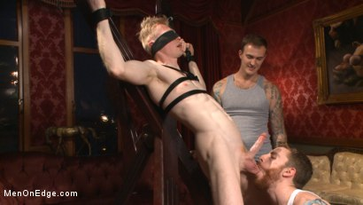 Photo number 8 from Lean hunk Rob Yaeger relentlessly edged & tormented w/ ice - Live Show shot for Men On Edge on Kink.com. Featuring Rob Yaeger in hardcore BDSM & Fetish porn.