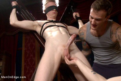 Photo number 6 from Lean hunk Rob Yaeger relentlessly edged & tormented w/ ice - Live Show shot for Men On Edge on Kink.com. Featuring Rob Yaeger in hardcore BDSM & Fetish porn.
